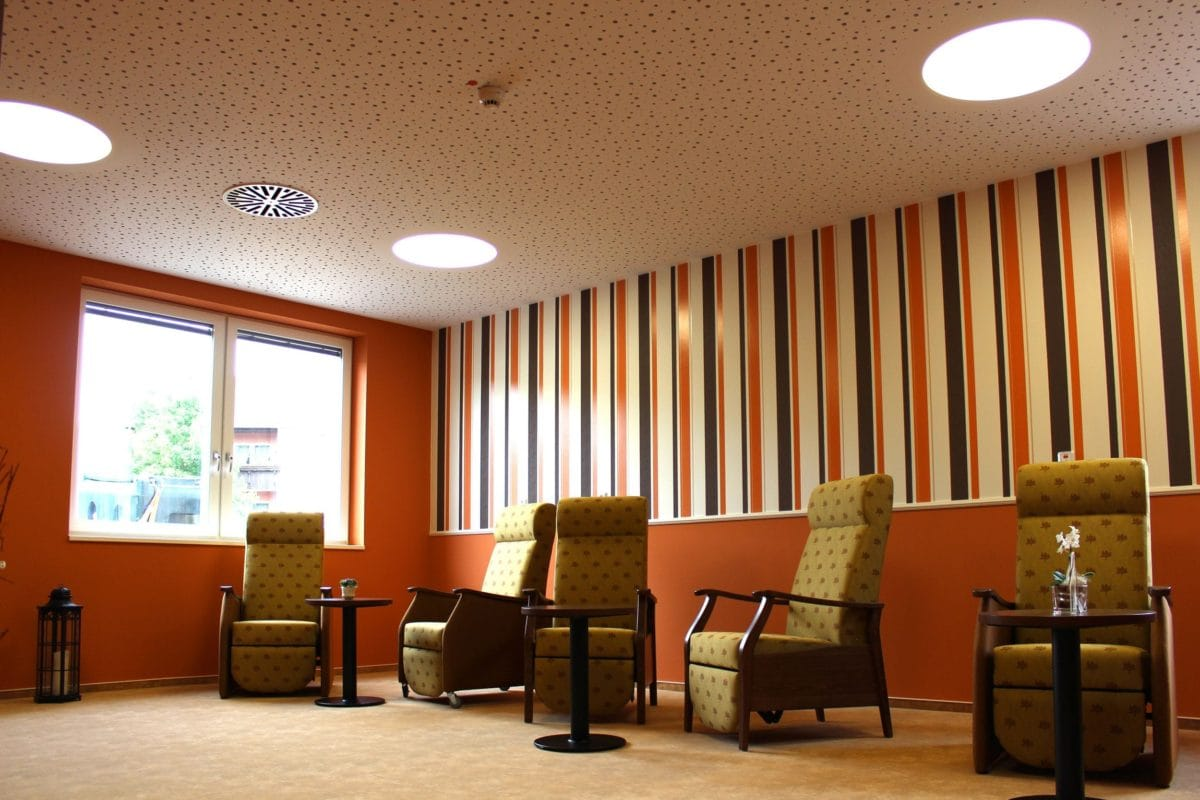 Neubau Tagespflege in modularer Bauweise, zertifiziertes Passivhaus | Ruheraum