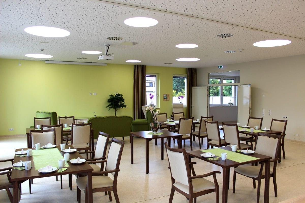 Neubau Tagespflege in modularer Bauweise, zertifiziertes Passivhaus | Innenraum