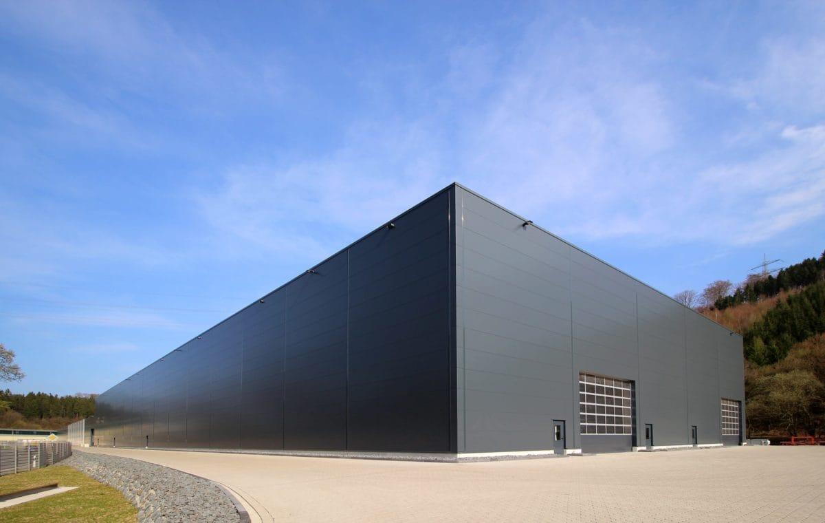 Neubau Produktionshalle | Perspektive