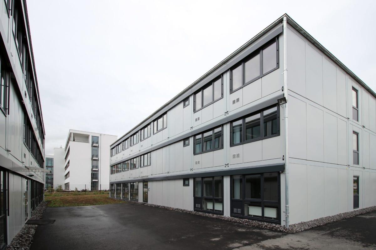 Neubau Büropark Systembauweise | Perspektive