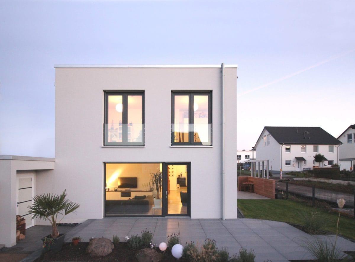 Neubau Haus in Bonn | Ansicht Garten