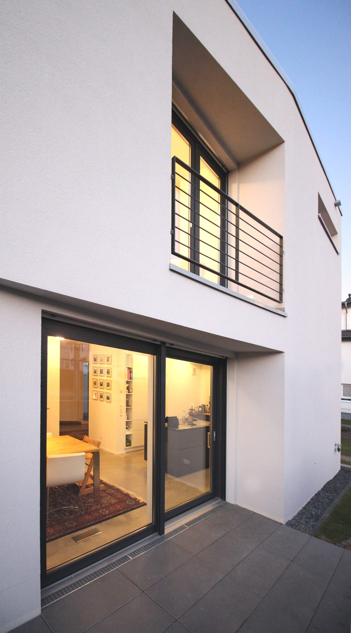 Neubau Haus in Bonn | Loggia
